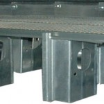 Channel lock floor supports